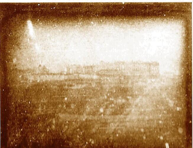 07. Primer daguerrotipo de Madrid. Palacio Real. 1839