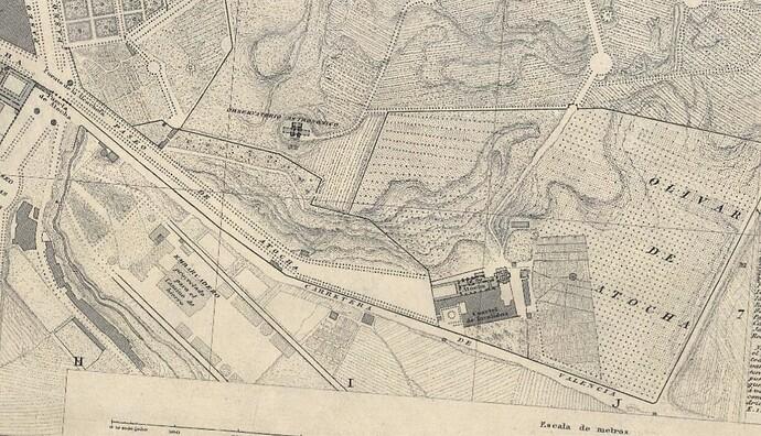 13c. Parcelario. 1848