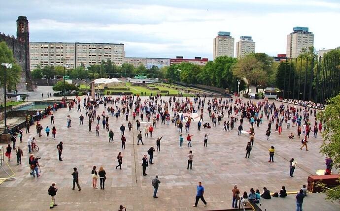 Plaza tlatelolco