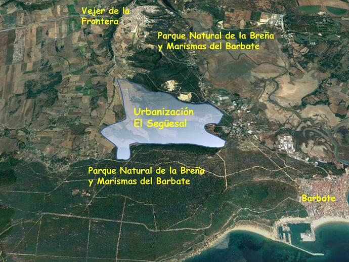 Ortofoto-Barbate-Vejer-con-urbanizacion-El-Seguiesal