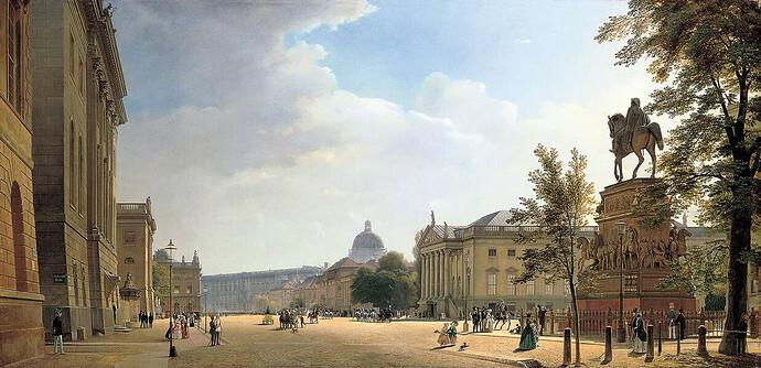 Eduard_Gaertner_Unter_den_Linden_1852