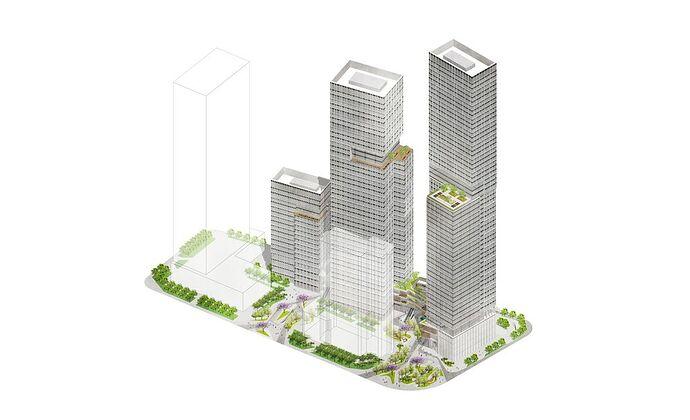 4024_Landscape_Plan_Axometric_Greening