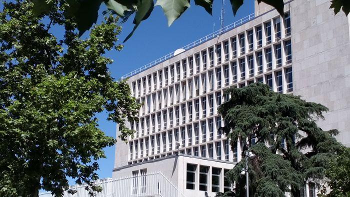 1950-1955, La Embajada de EEUU en Serrano;Leland W King,Ernest Warlon,Mariano Garriguez Diaz Cabañete (8)_opt