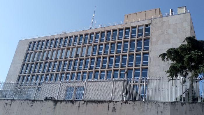 1950-1955, La Embajada de EEUU en Serrano;Leland W King,Ernest Warlon,Mariano Garriguez Diaz Cabañete (9)_opt