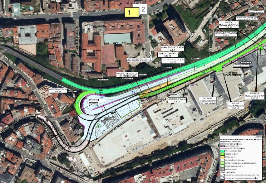 Tunel-accesos-Centro-Vialia-Vigo