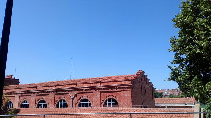 1907-1911;Depósito,chimenea y Central Eléctrica de Sta Engracia;Luis Moya Idigoras y Ramón de Aguinaga (5)_opt
